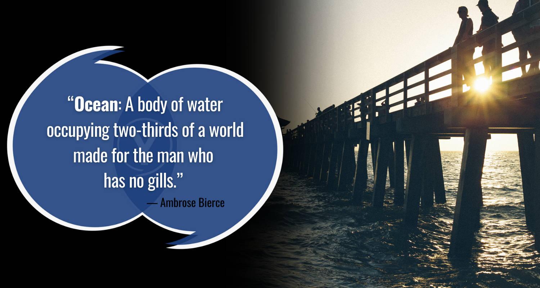 Kutipan Laut oleh Ambrose Bierce