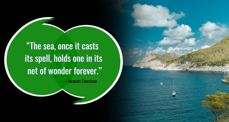 Kutipan Laut oleh Jacques Cousteau