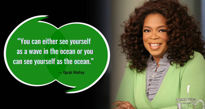 Kutipan Laut oleh Oprah Winfrey