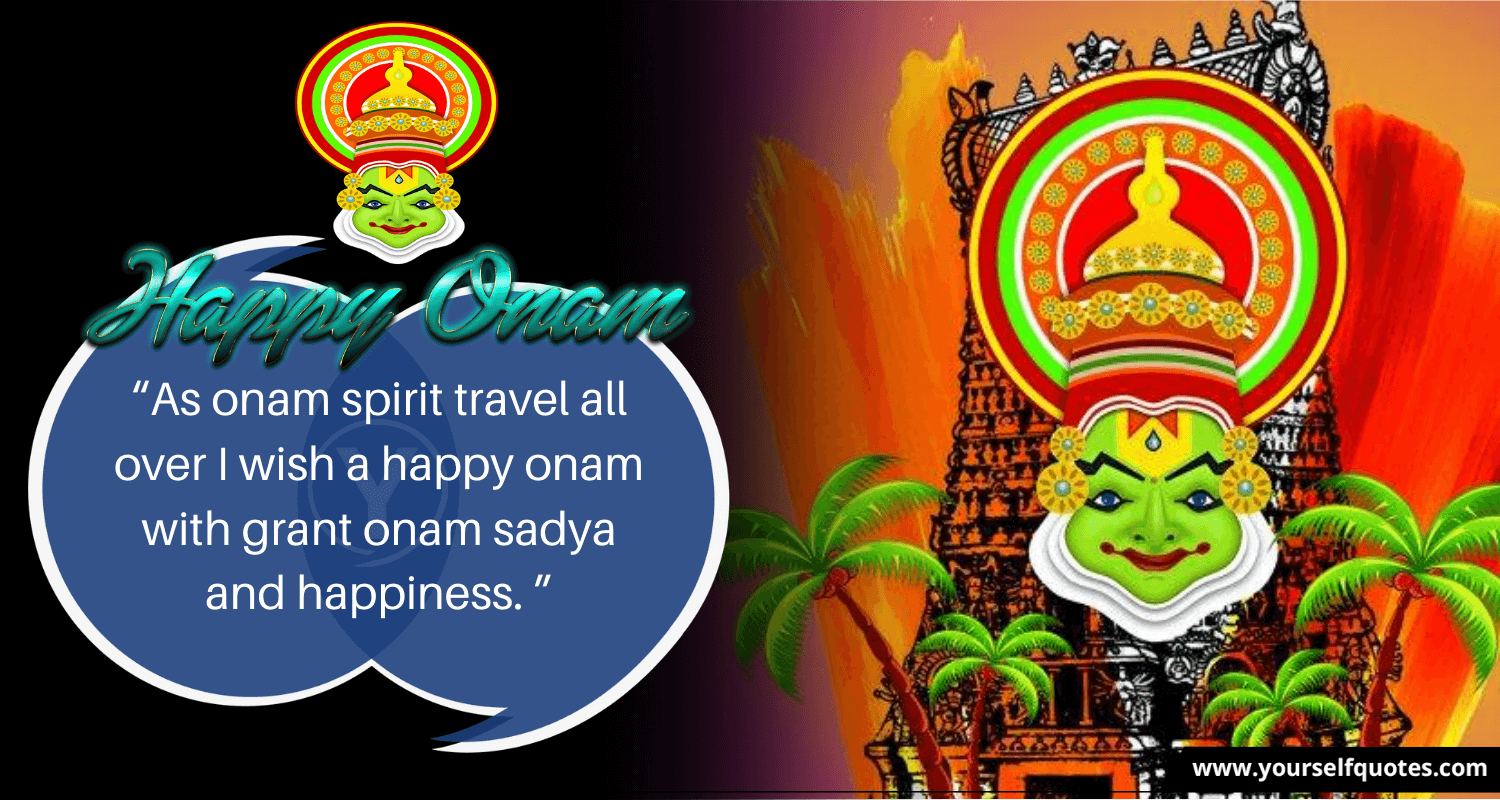 Onam Wishes Messages