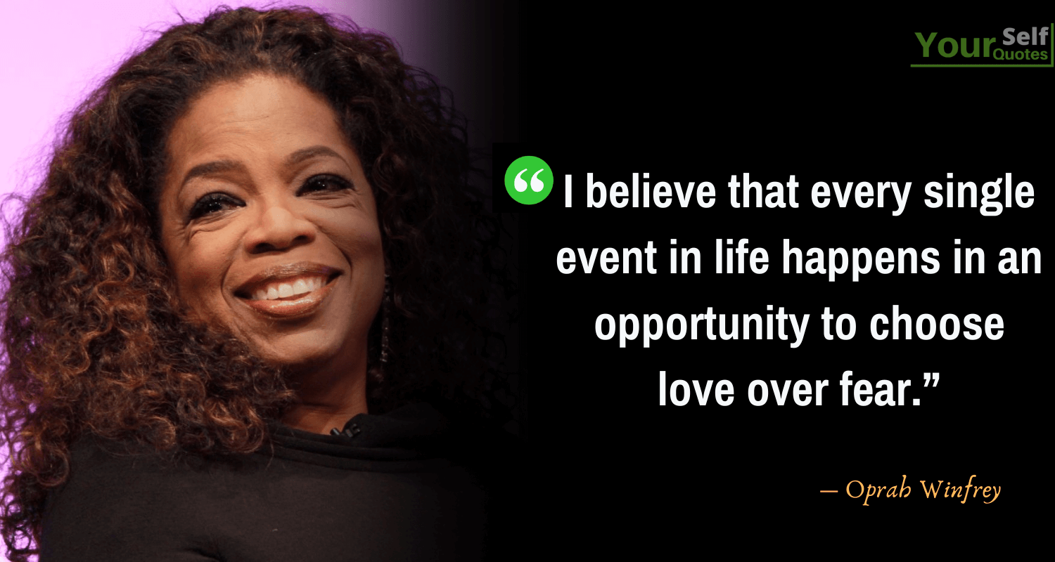 Oprah Winfrey Quotes on Love