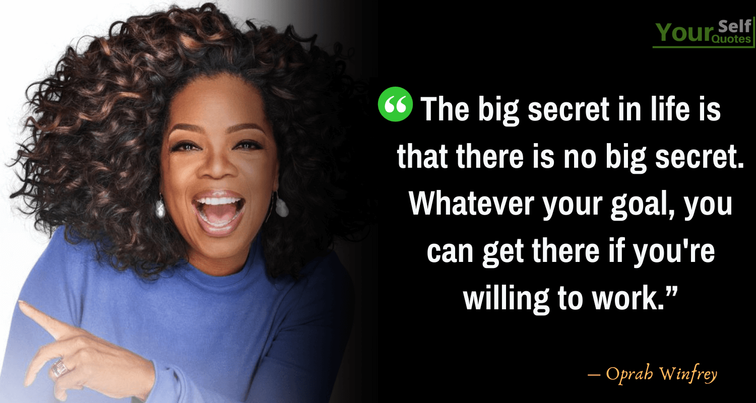 Inspirational Oprah Winfrey Quotes