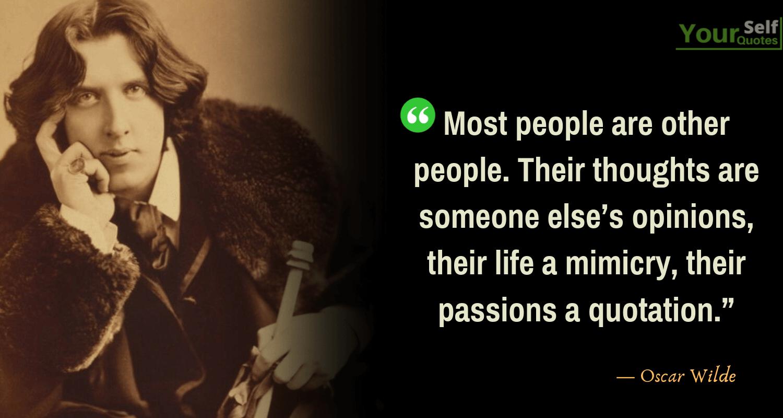 Oscar Wilde Best Quotes