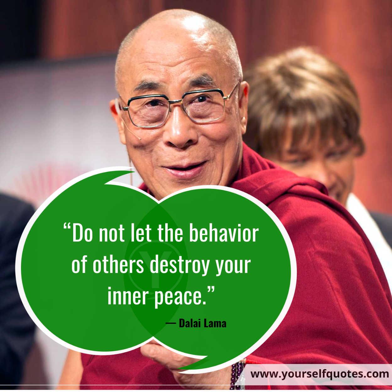 Peace Quotes by Dalai Lama