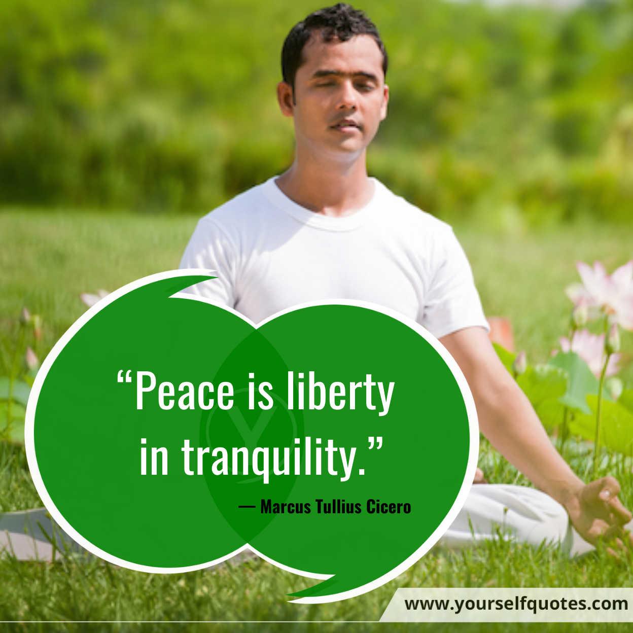 Peace Quotes by Marcus Tullius Cicero