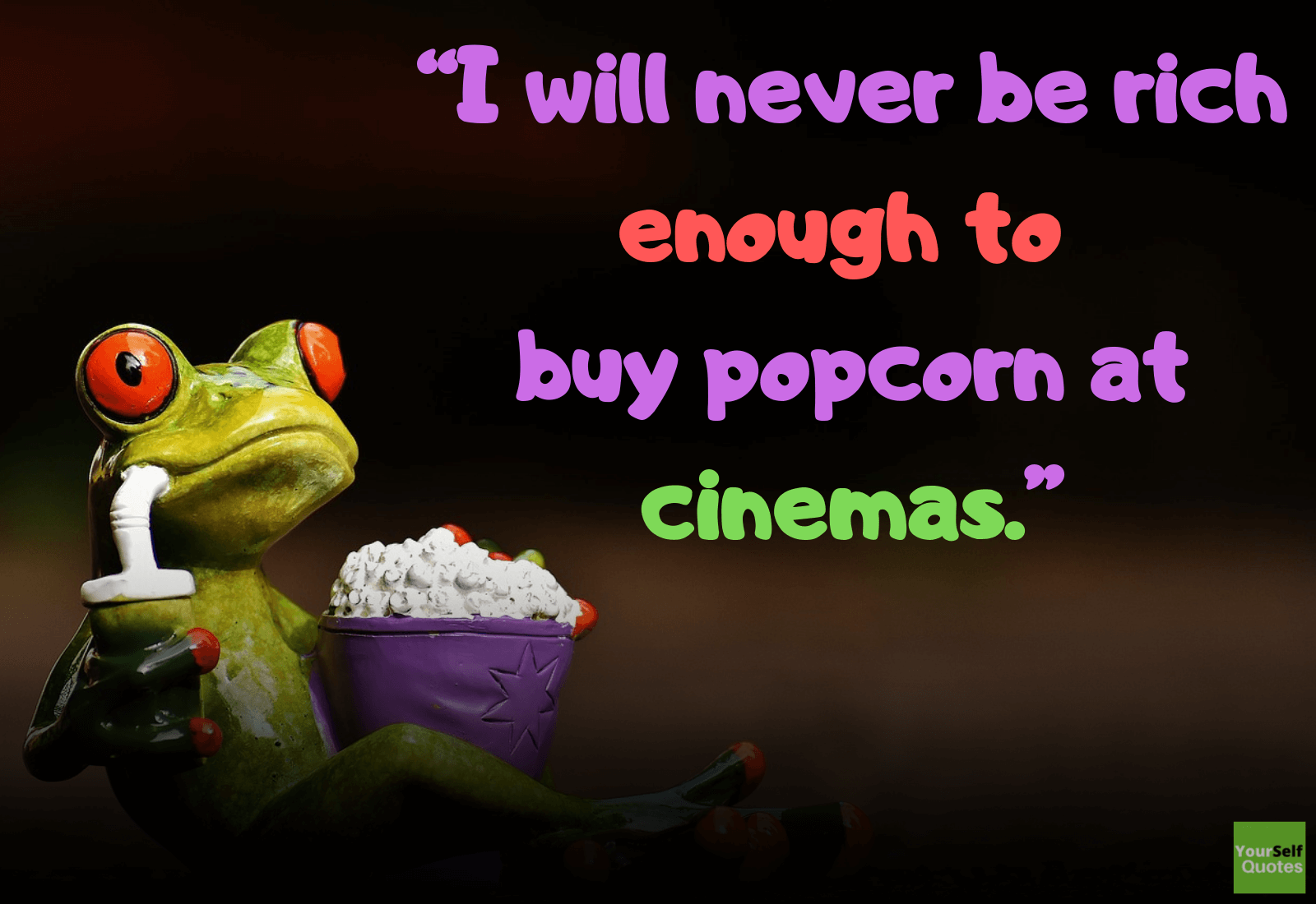Popcorn Quotes by Kiana