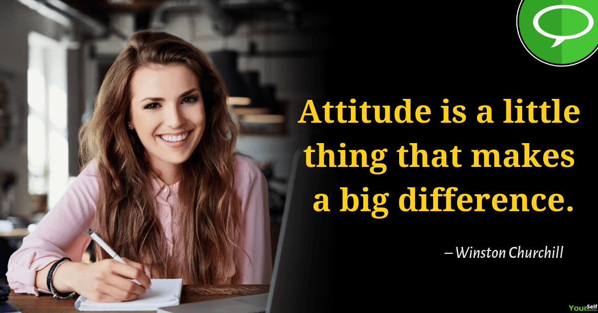 Positive Attitude Quotes BY Winston Churchill