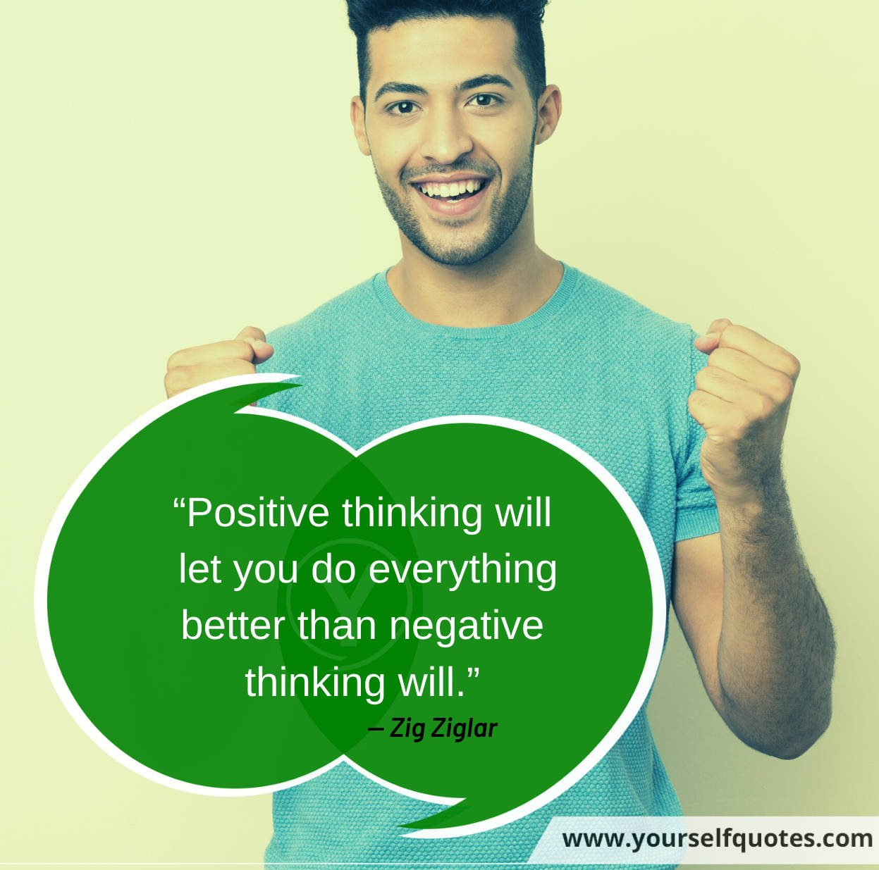 Positive Thinking Quotes by Zig Ziglar