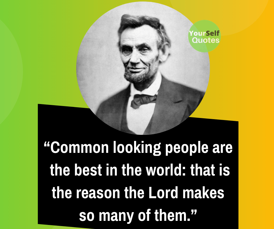 Quotation from Abraham Lincoln