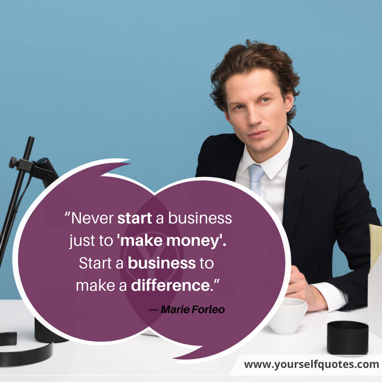 Quote About Business by Marie Forleo
