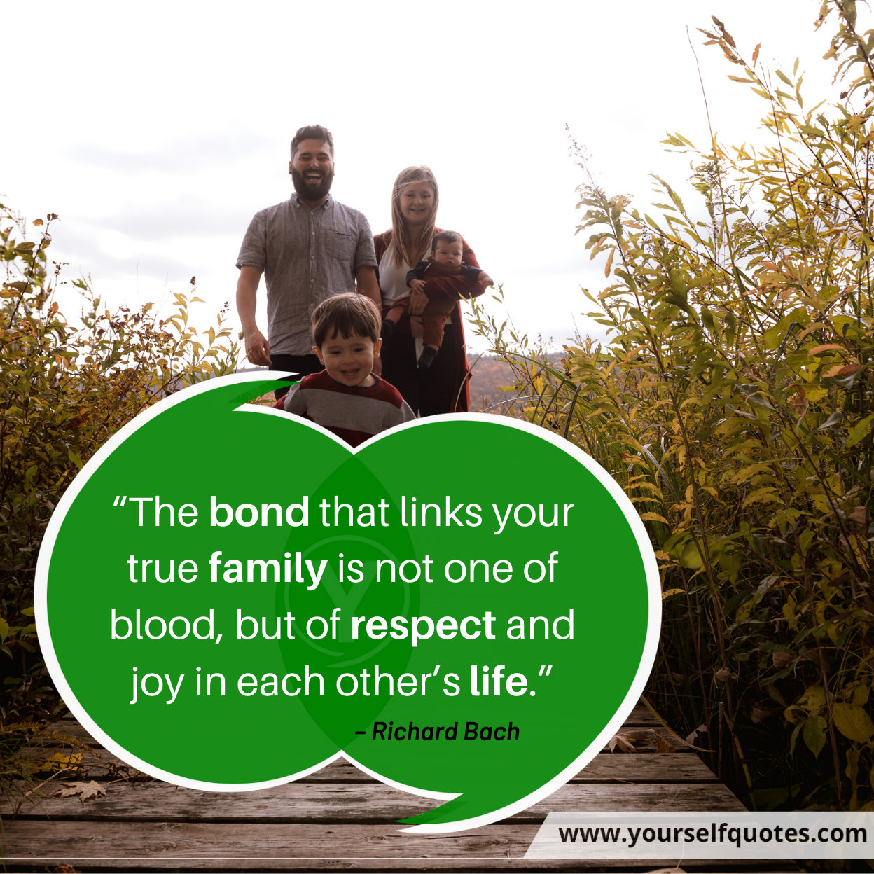 Quote About Family by Richard Bach