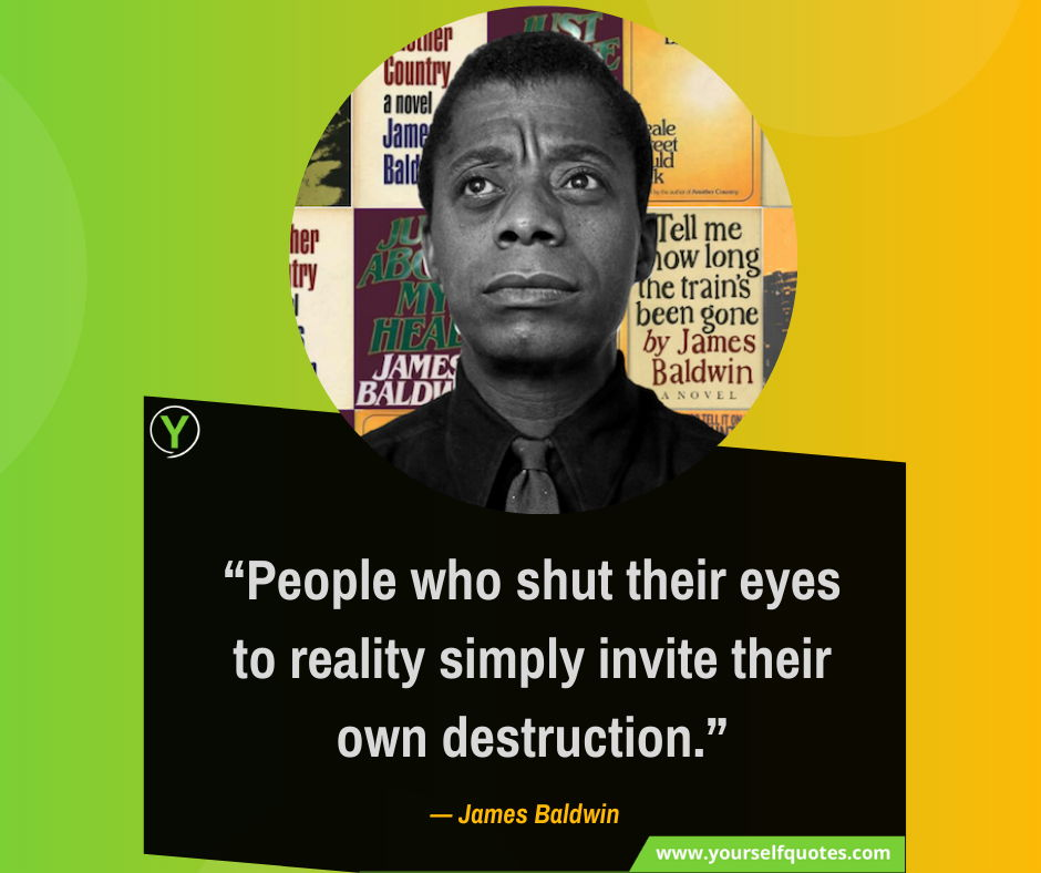 Quote From James Baldwin