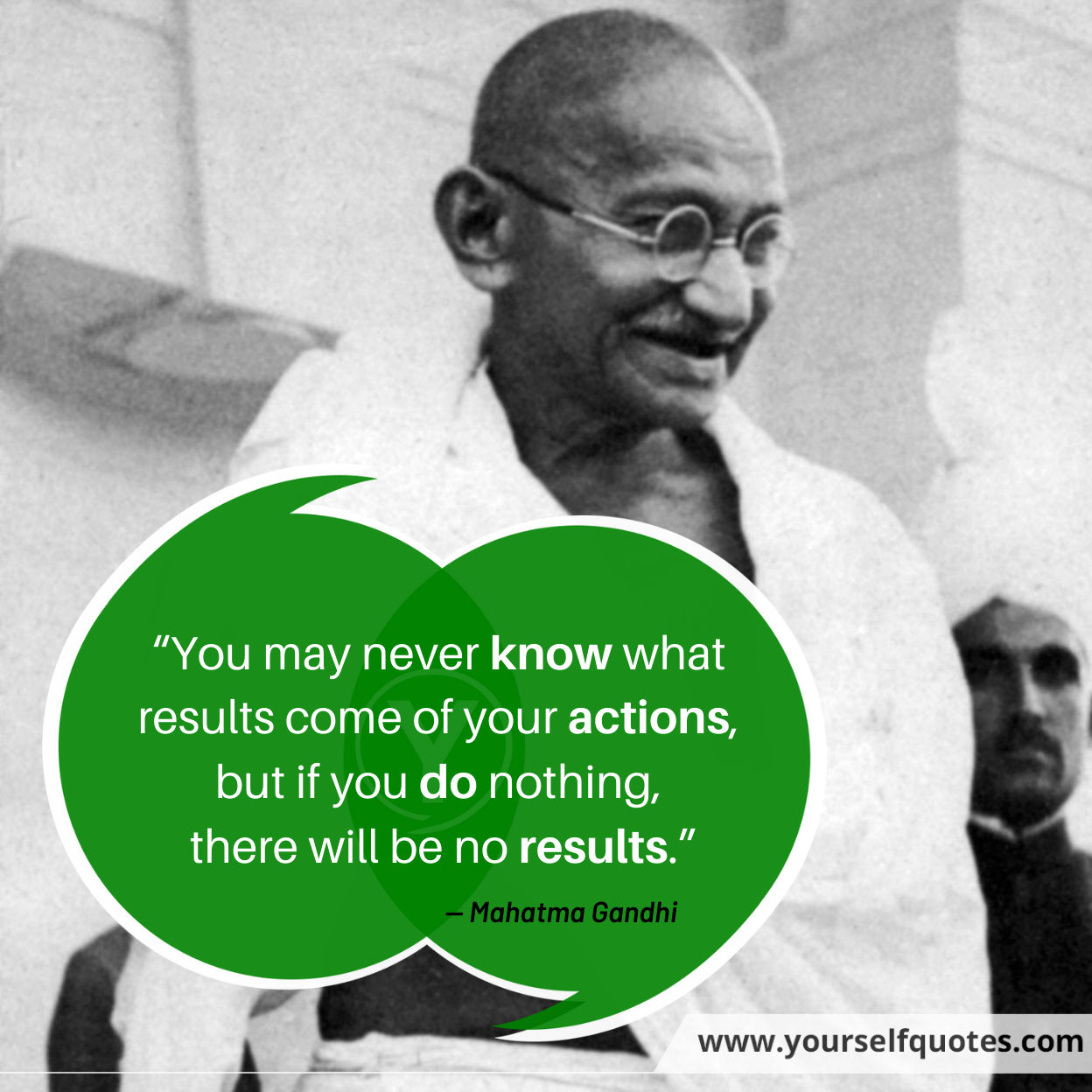 Quote Of The Day by Mahatma Gandhi