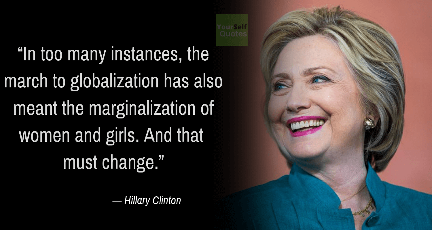 Quote by Hillary Rodham Clinton