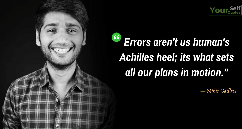 Quote by Mihir Gadhvi