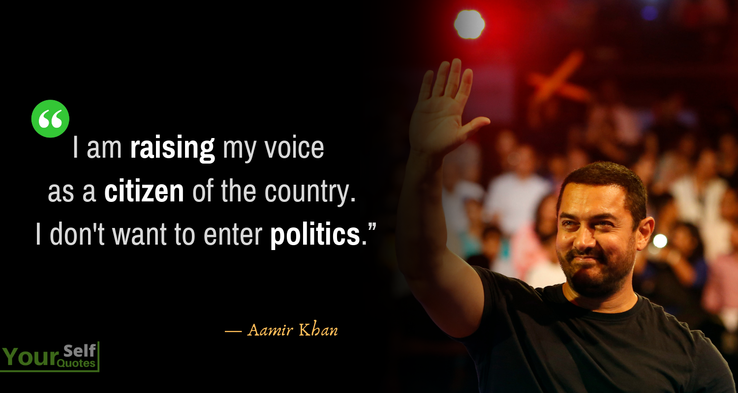 Aamir Khan Quote