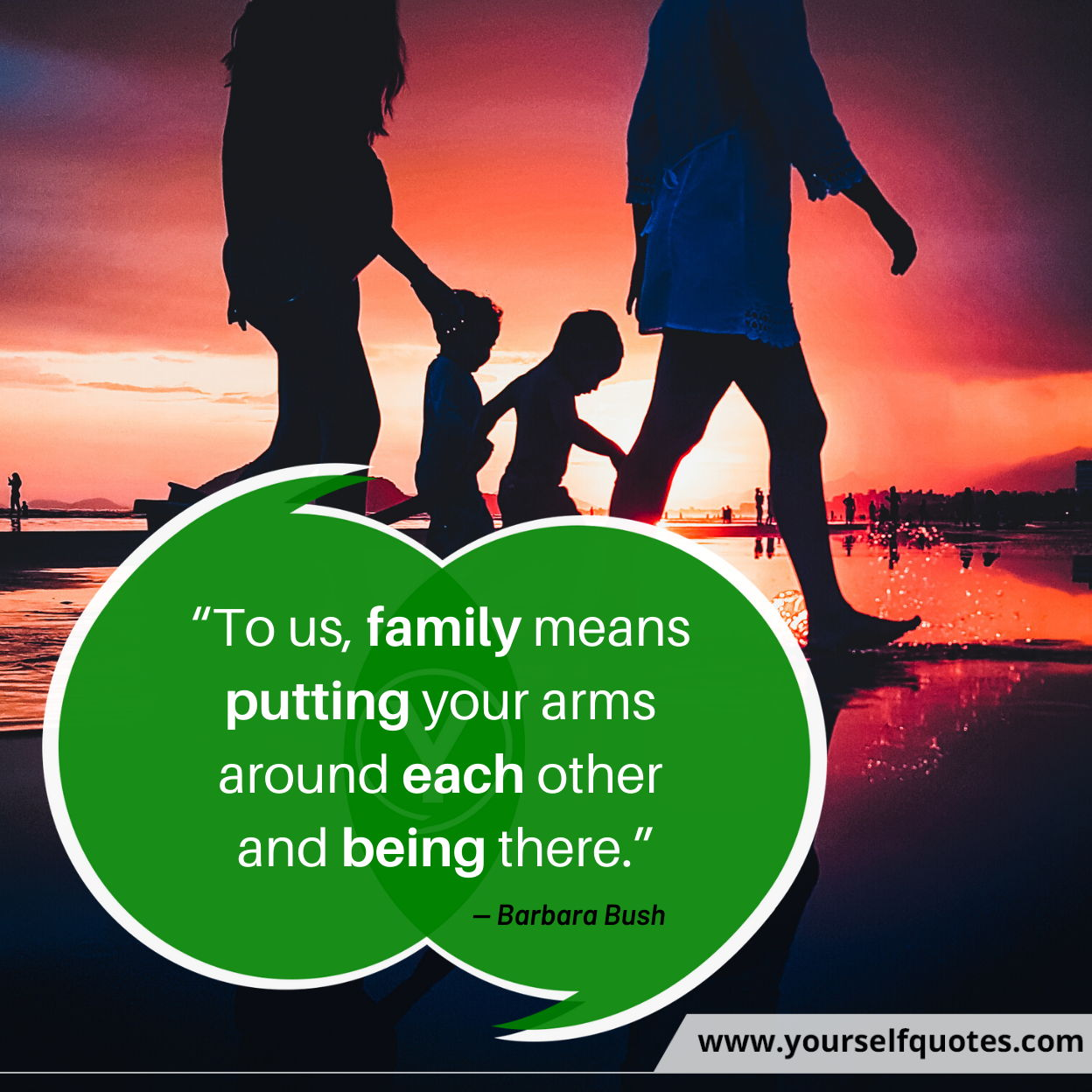 Quotes About Family Love by Barbara Bush