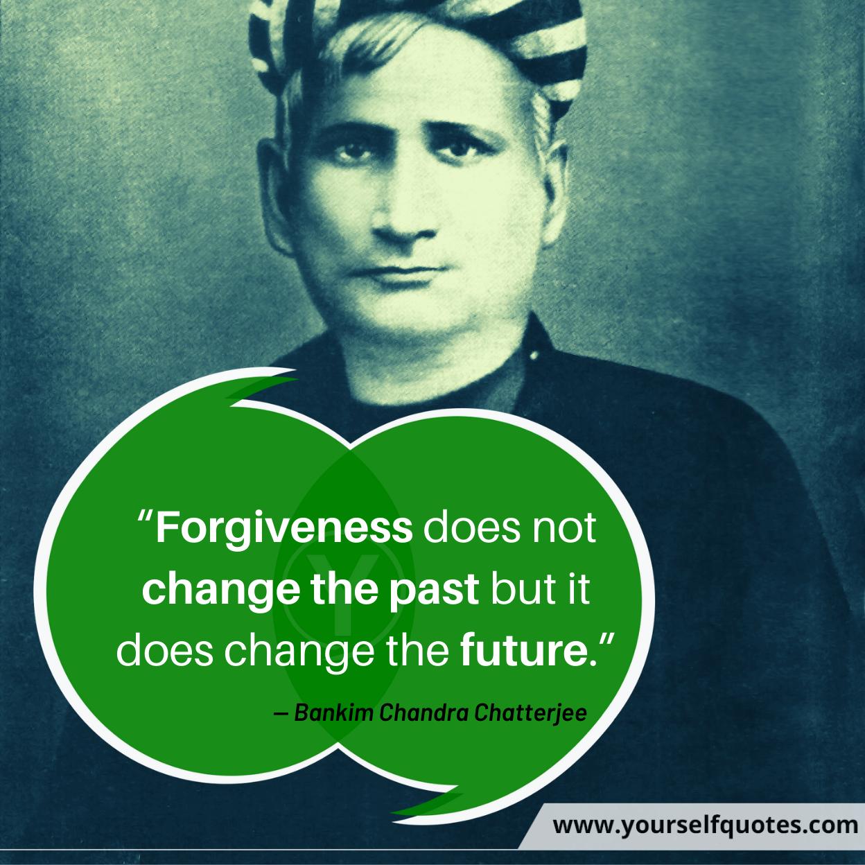 Quotes Bankim Chandra Chatterjee