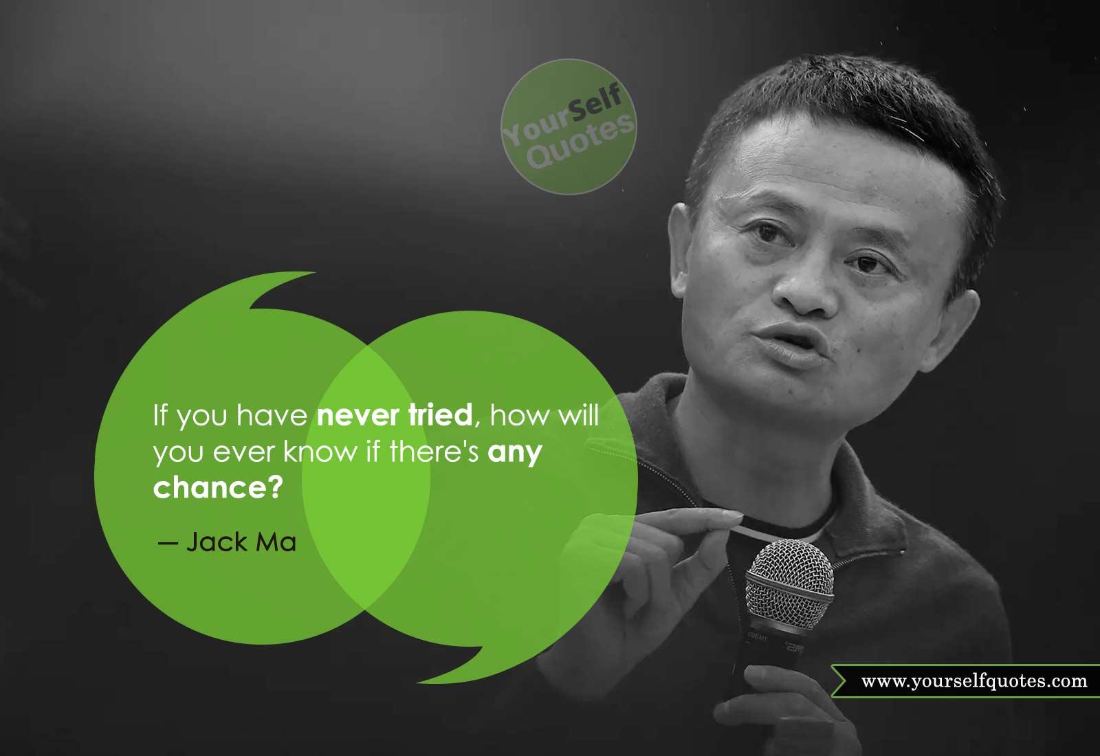 Kutipan Oleh Jack Ma dari Alibaba