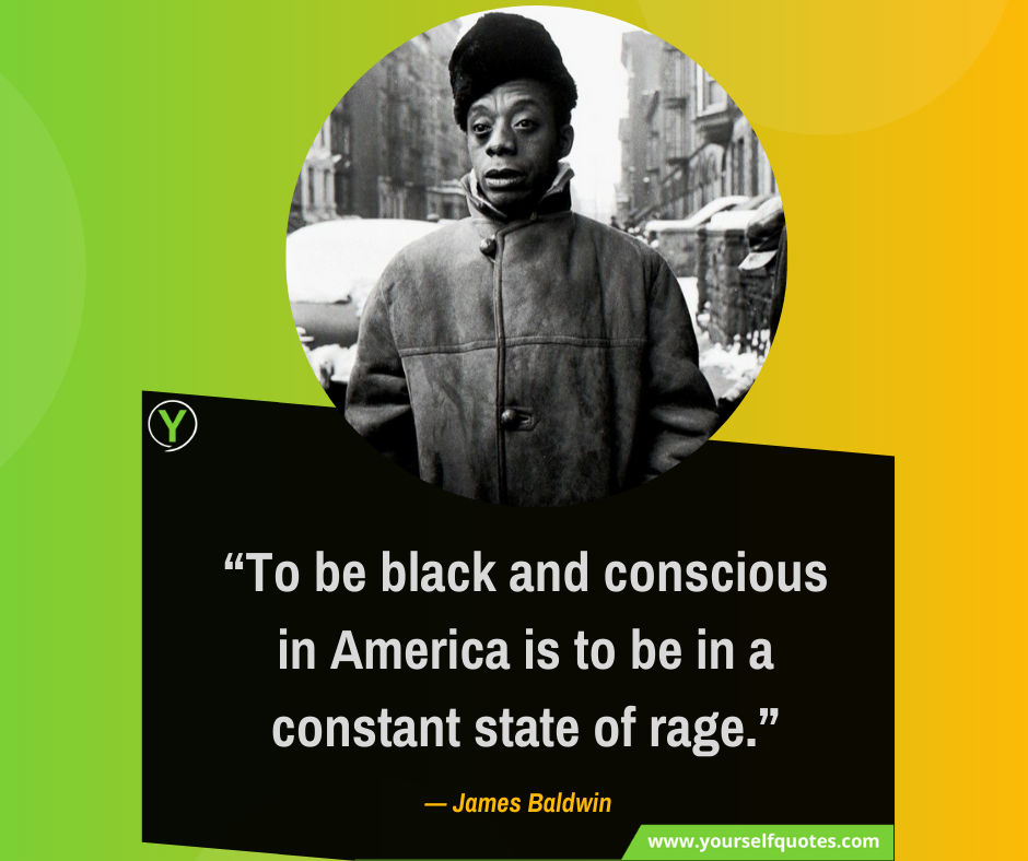 Quotes From James Baldwin