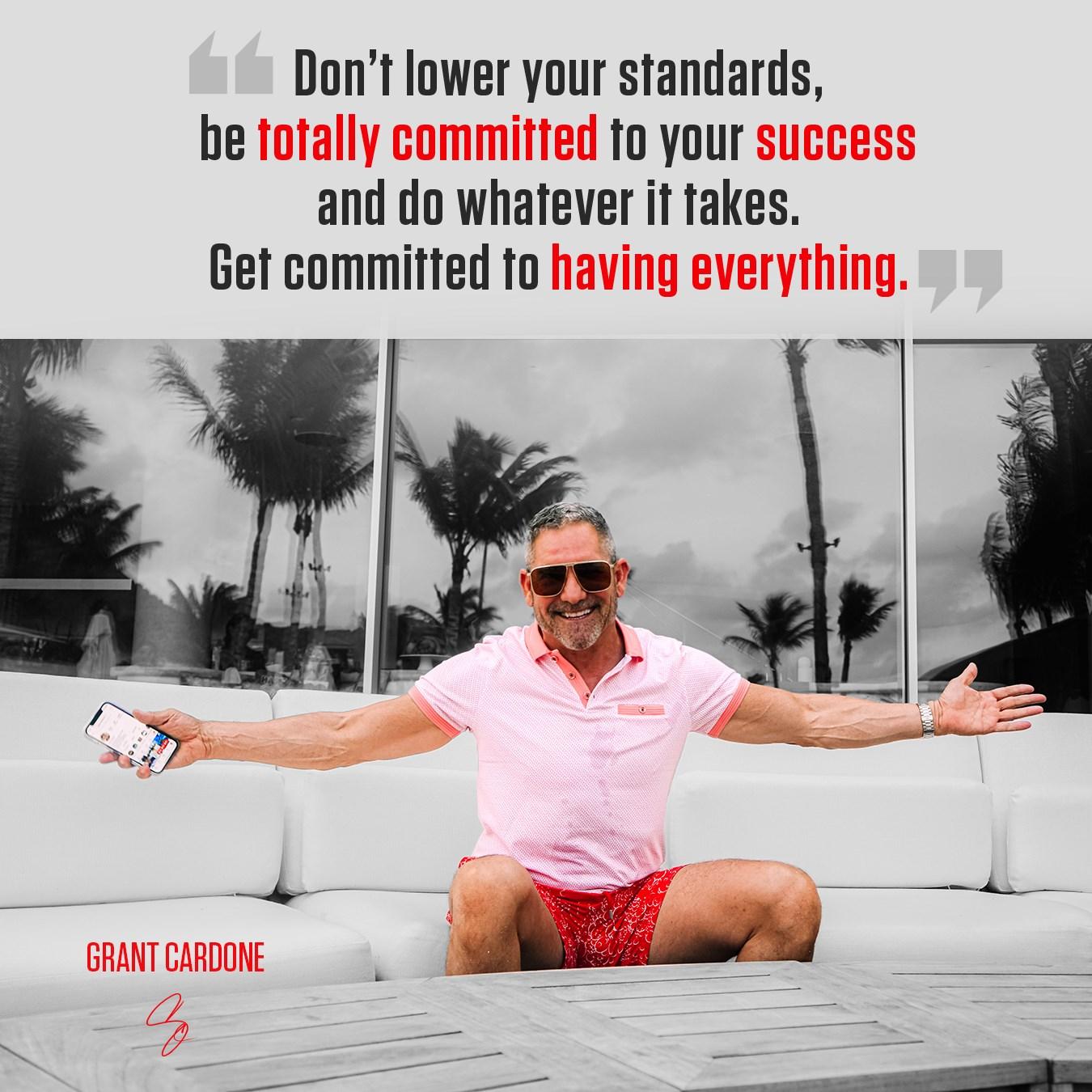 Success Quotes Grant Cardone