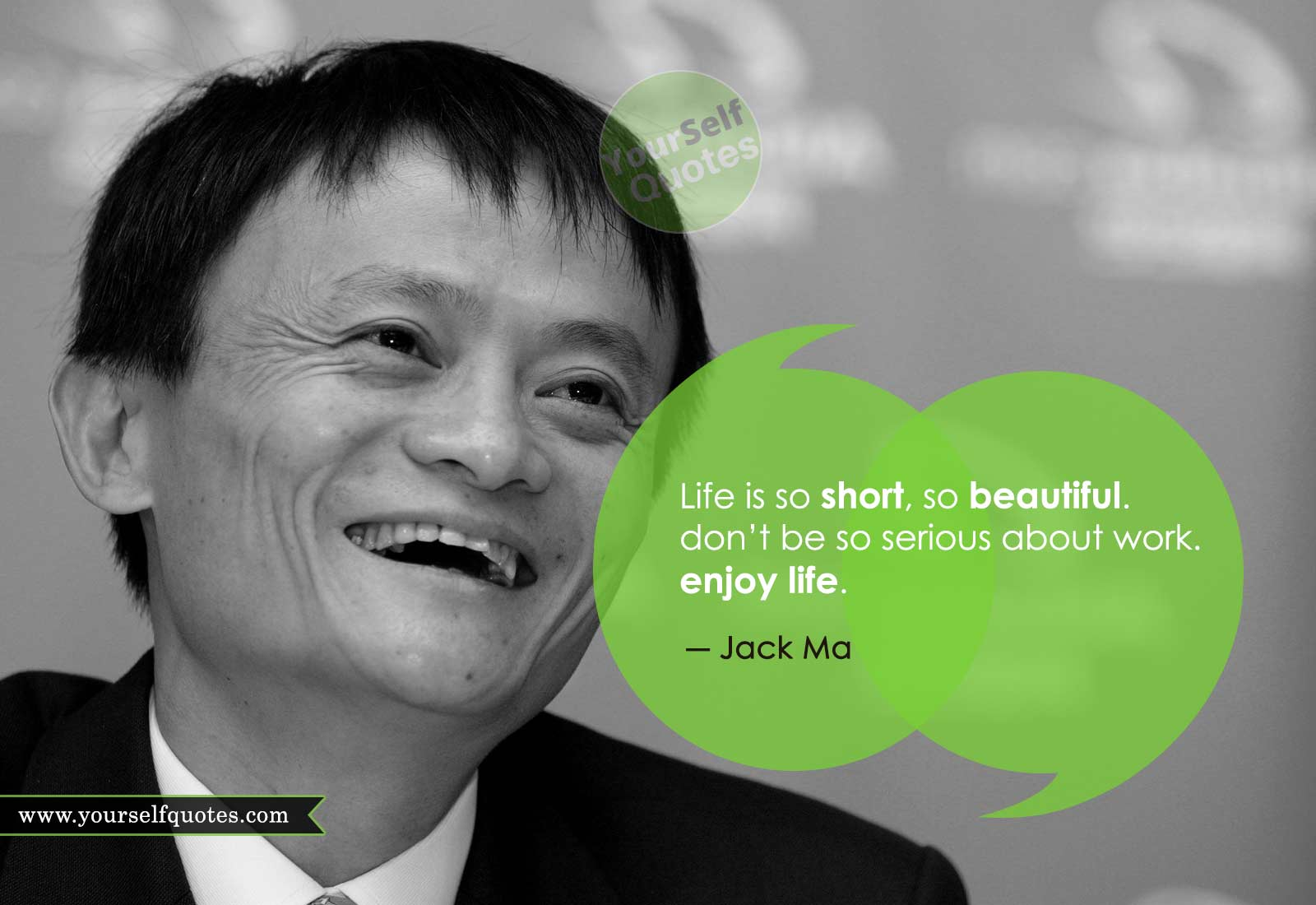 Jack Ma Quotes on Life