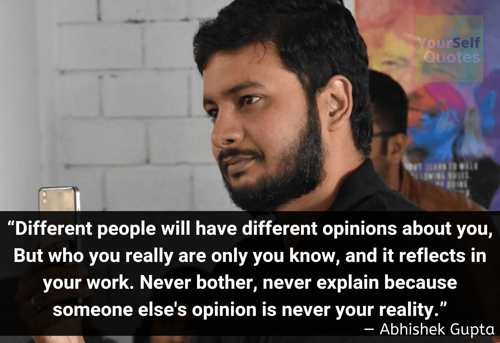 Quotes by Abhishek Gupta