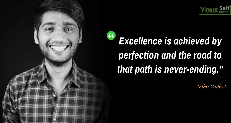 Quotes by Mihir Gadhvi