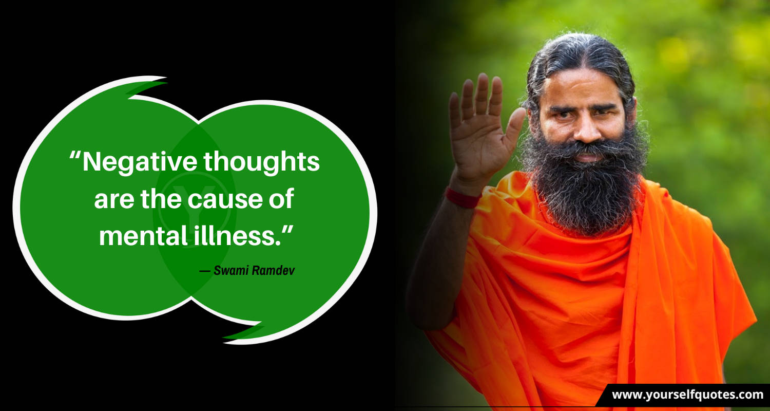 Quotes by Swami Ramdev