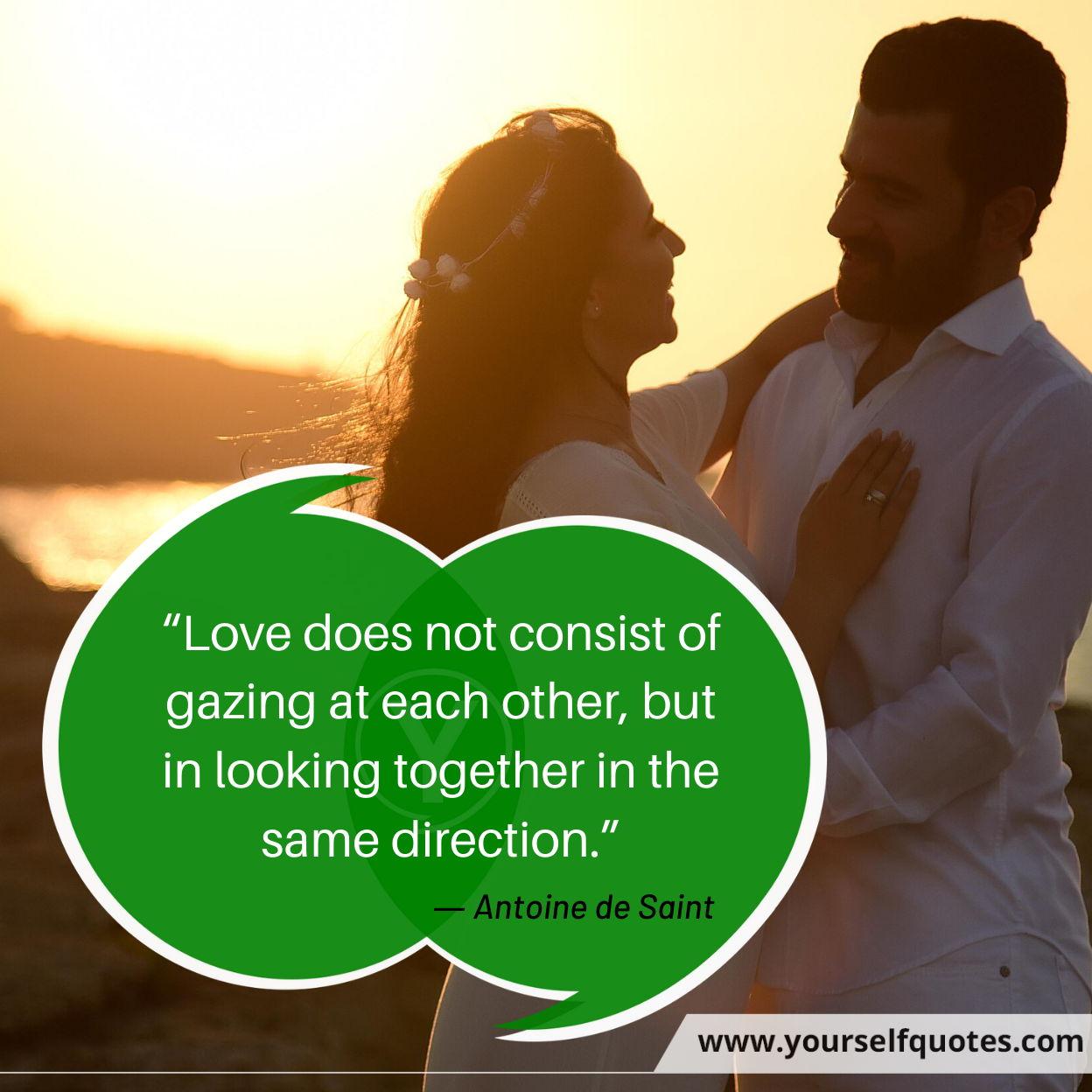 Quotes on Love by Antoine de Saint
