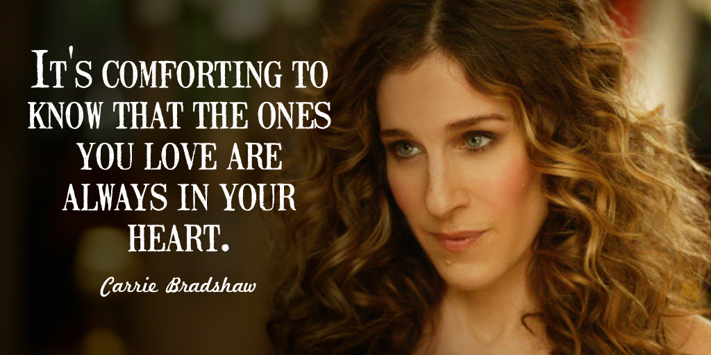 Quotes on Love by Carrie Bradshaw