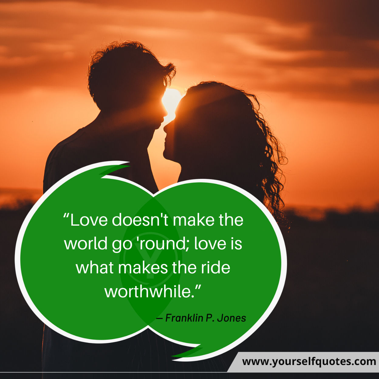 Quotes on Love by Franklin P. Jones