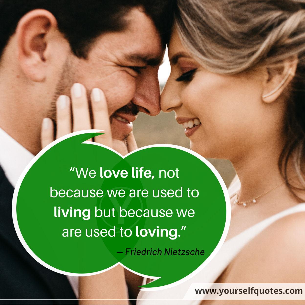 Quotes on Love by Friedrich Nietzsche