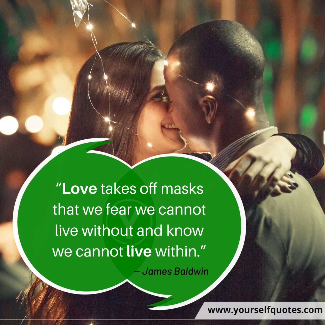 Quotes on Love by James Baldwin