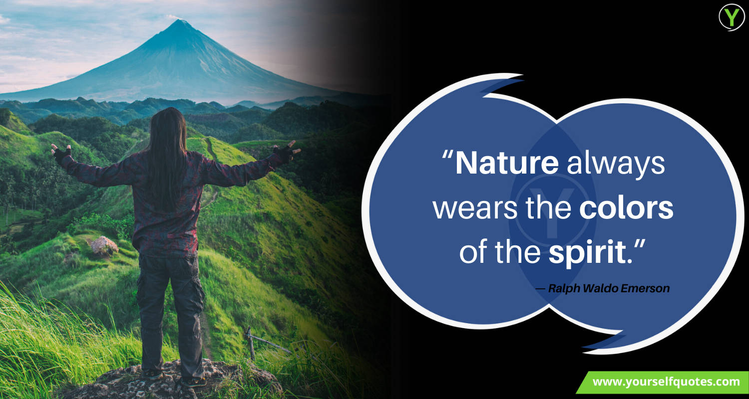 Quotes on Nature by Ralph Waldo Emerson