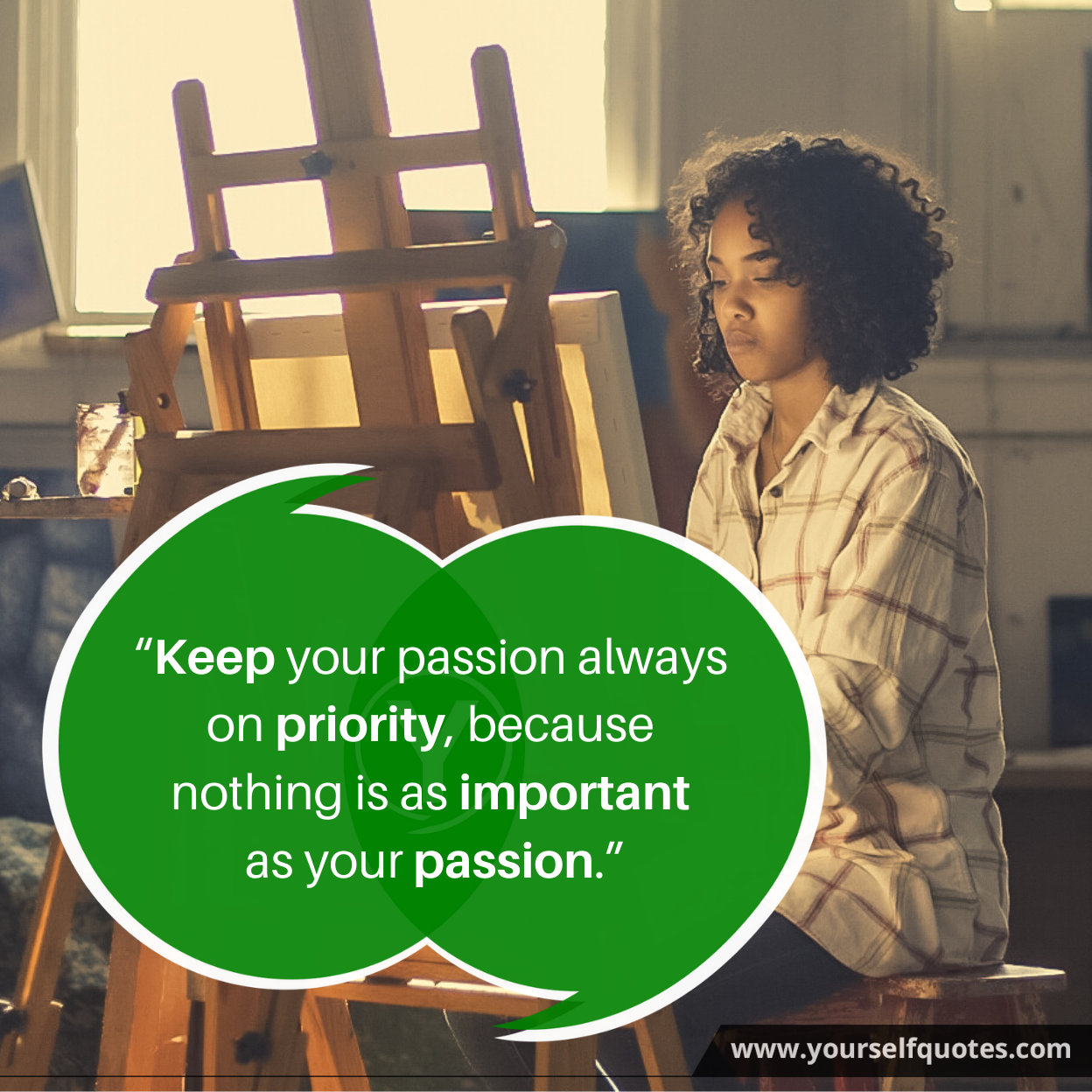 Quotes on Passion Images