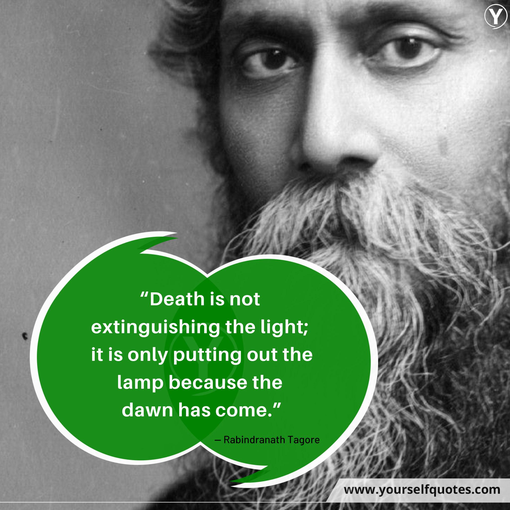 Rabindranath Tagore Quotations