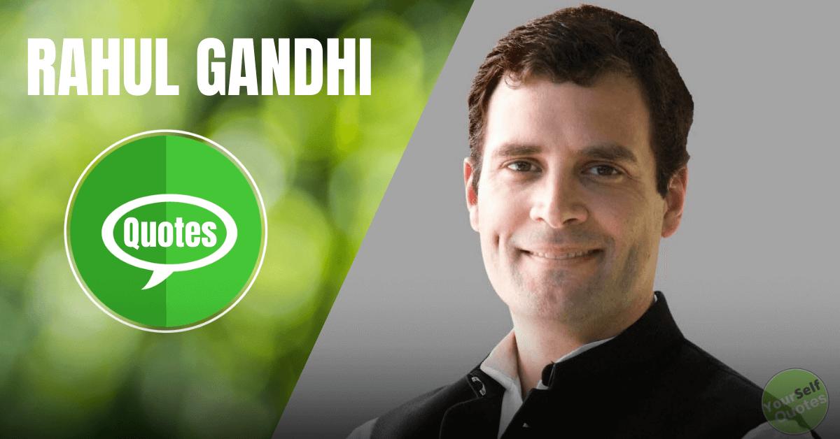 Rahul Gandhi Mengutip Gambar