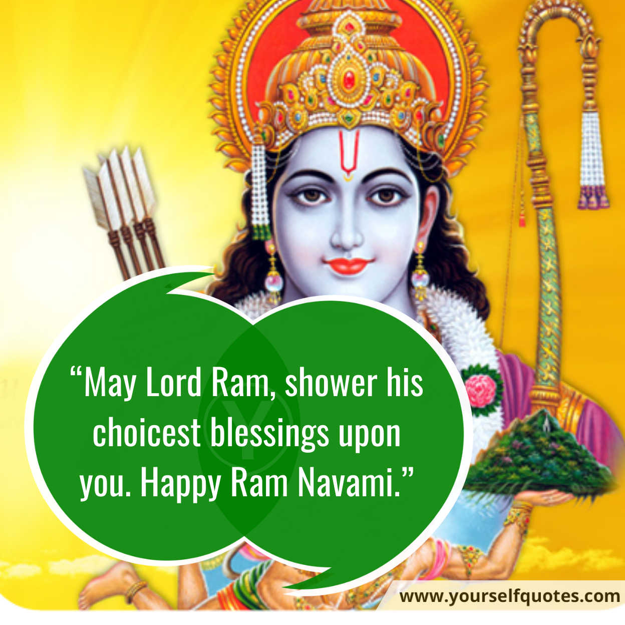 Ram Navami Wishes Photo