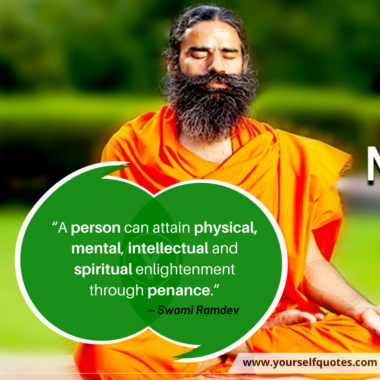 Ramdev Baba Spiritual Quotes Images