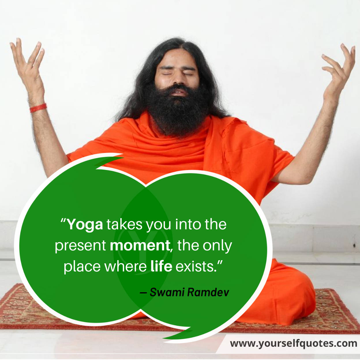 Ramdev Baba Yoga Quotes Images