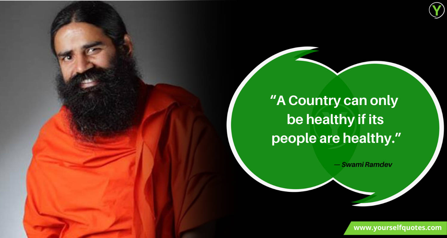 Ramdev Quotes Images