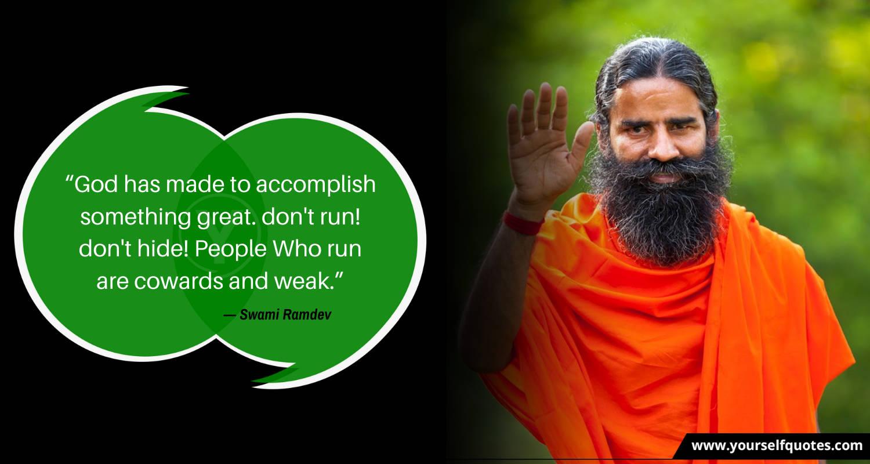 Ramdev Quotes