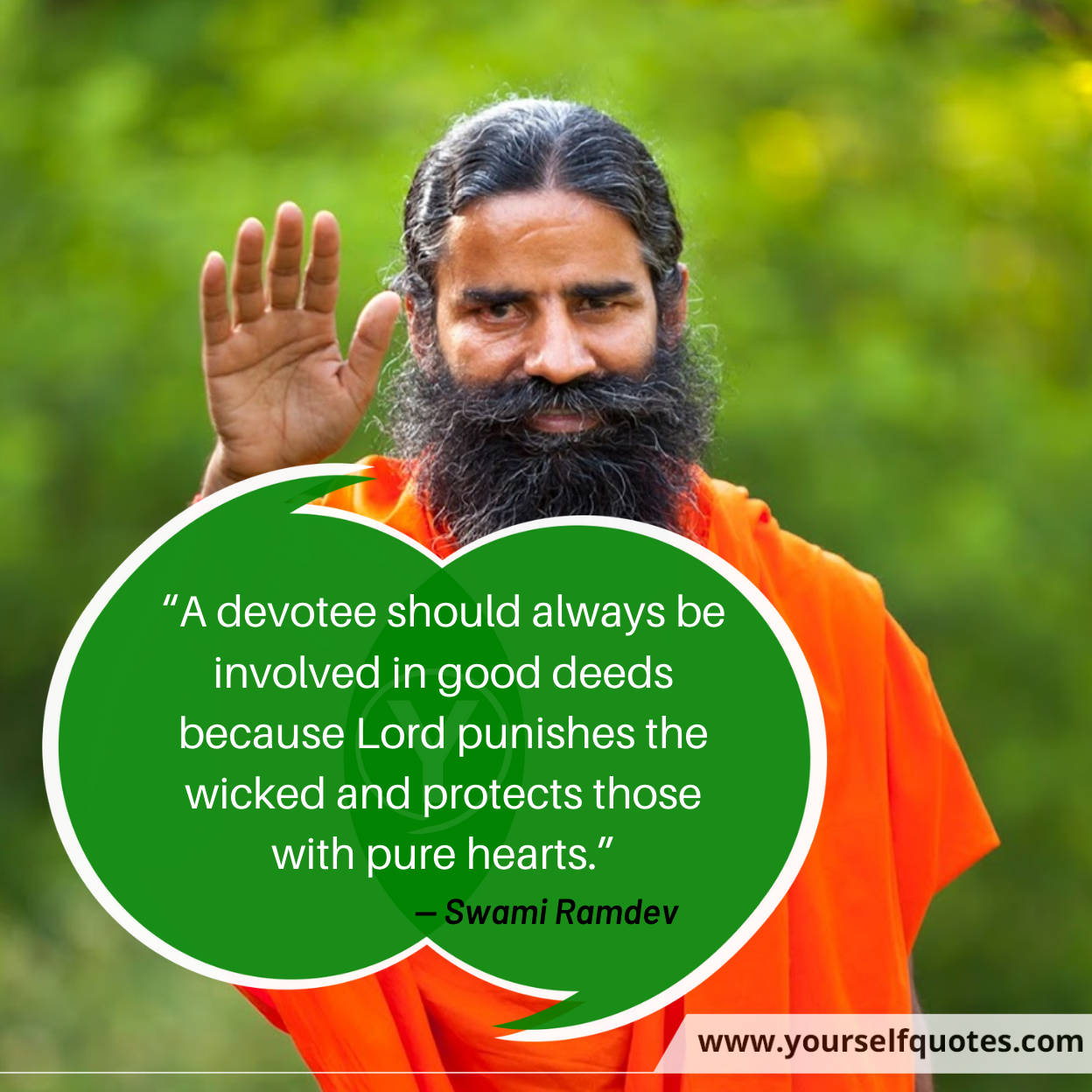 Ramdev Thoughts Quotes