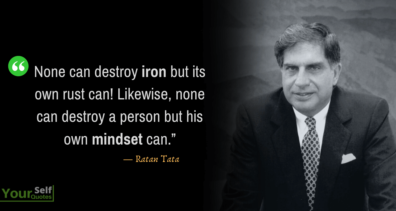 Ratan Tata Quote Picture