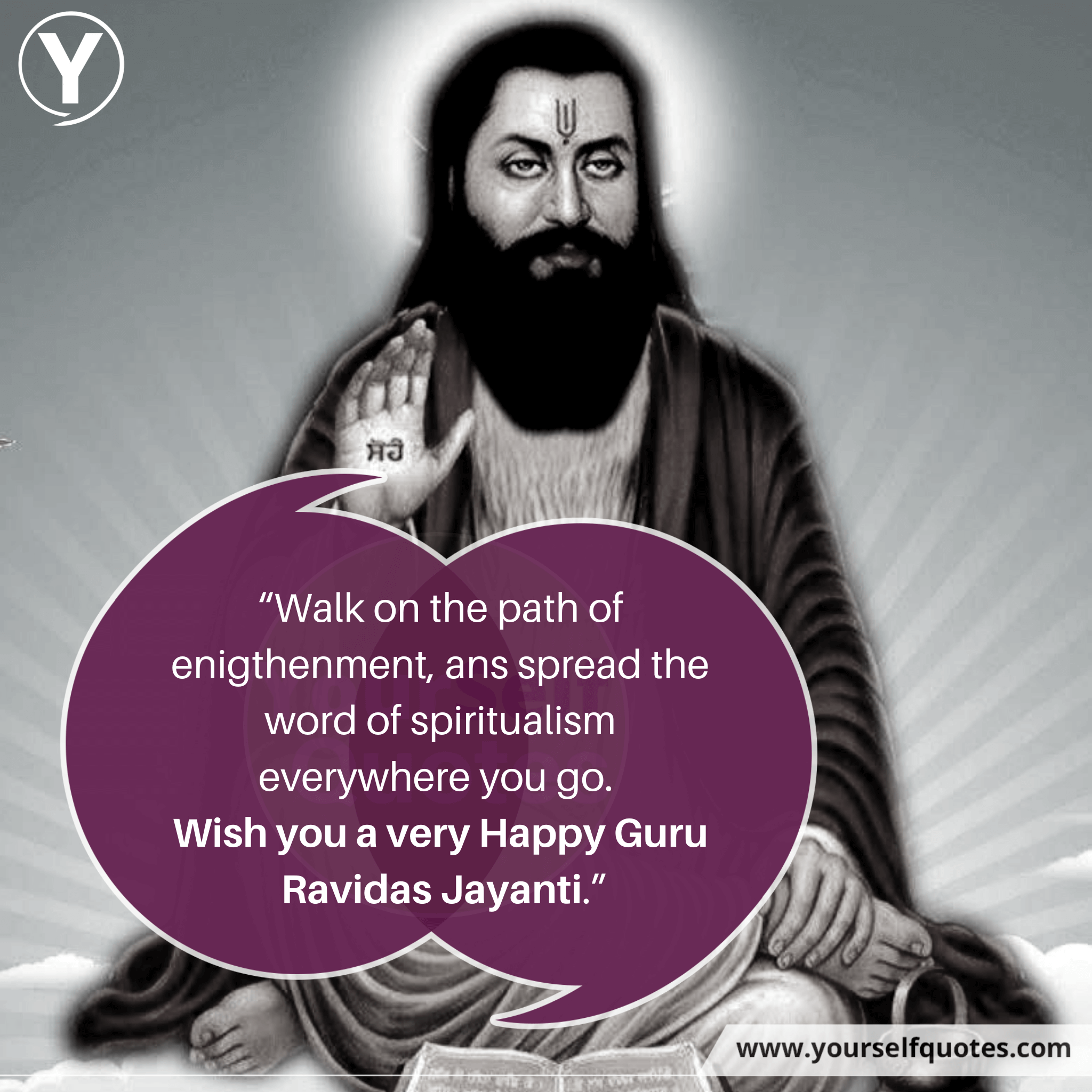 Wish you a very Happy Guru Ravidas Jayanti