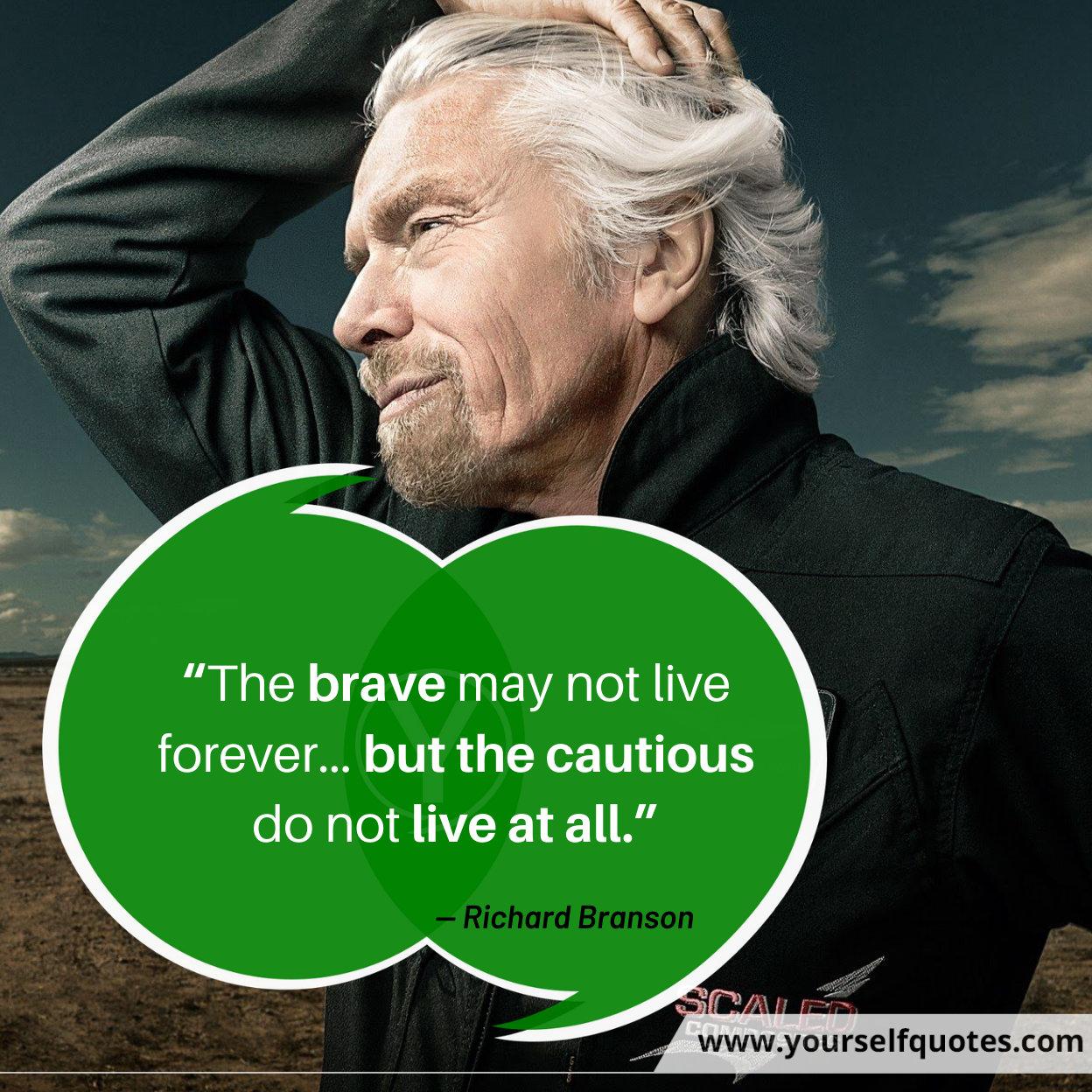Richard Branson Quotes on Success