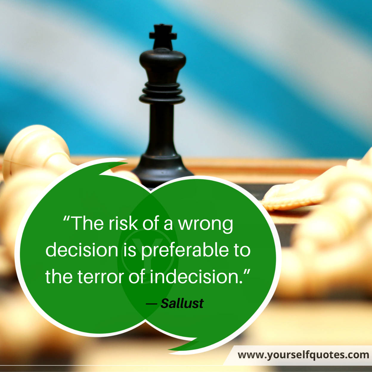 Risk Quotes by Sallust