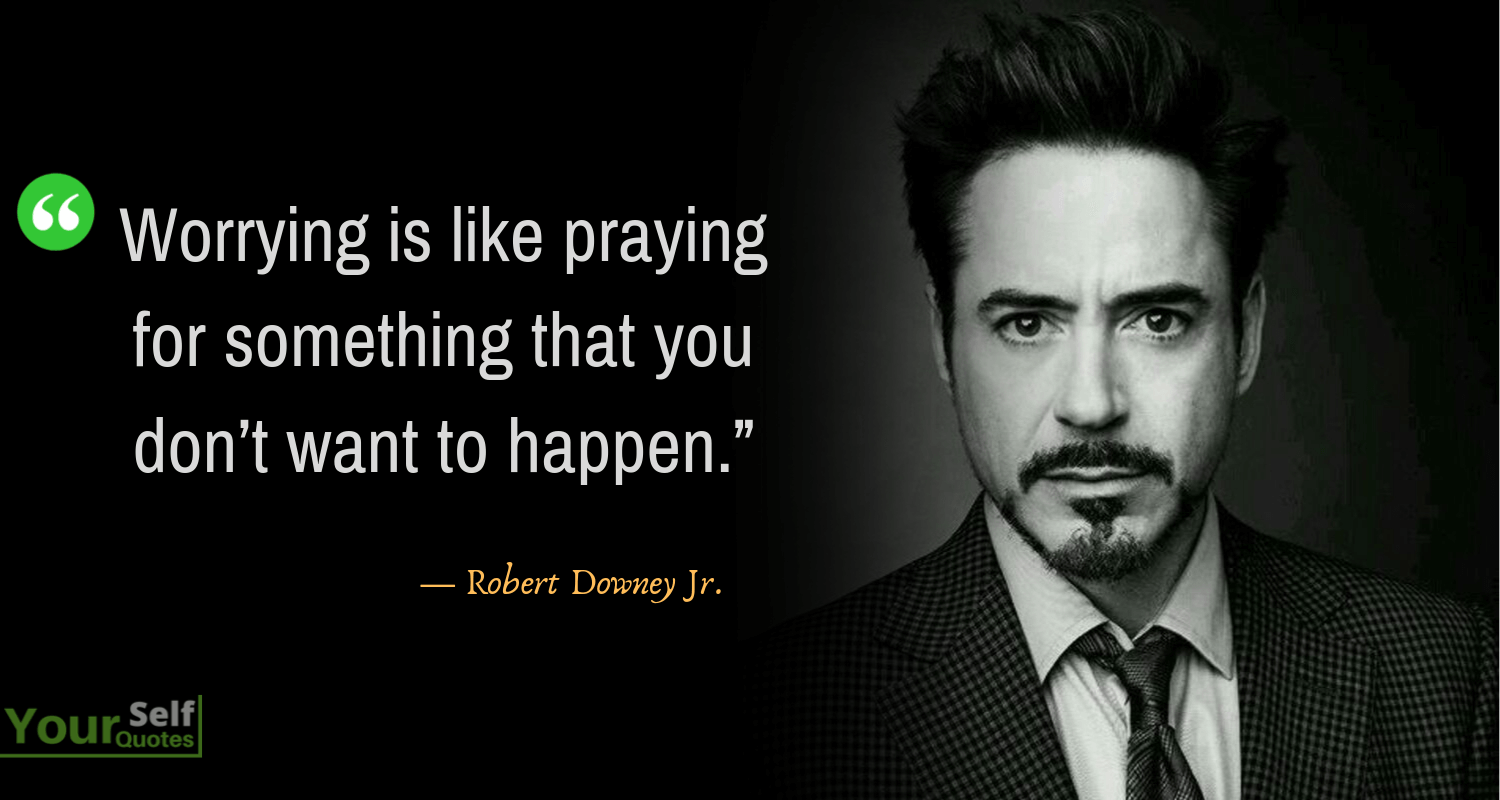 Robert Downey Jr Quotes Images