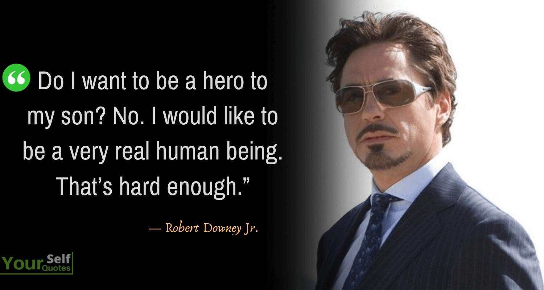 RobertDowney Quotes